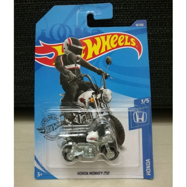 Hot Wheels Hw Hotwheels Honda Monkey Z50 White 2020 10 250 Shopee Malaysia