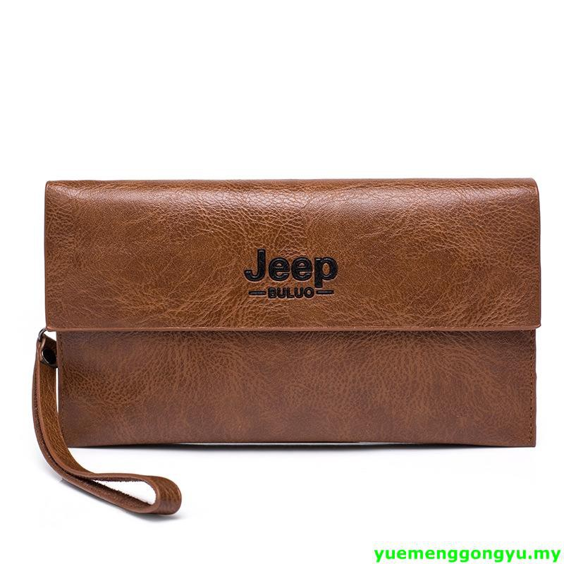 32148bffa0e •Jeep Men PU Leather Wallet Long Handbag Casual Purse Fashionable
