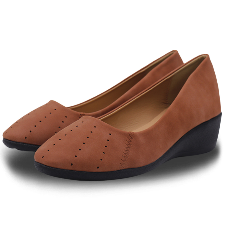 Polo Hill Ladies Ballet Wedges Shoes PSC-0A-231