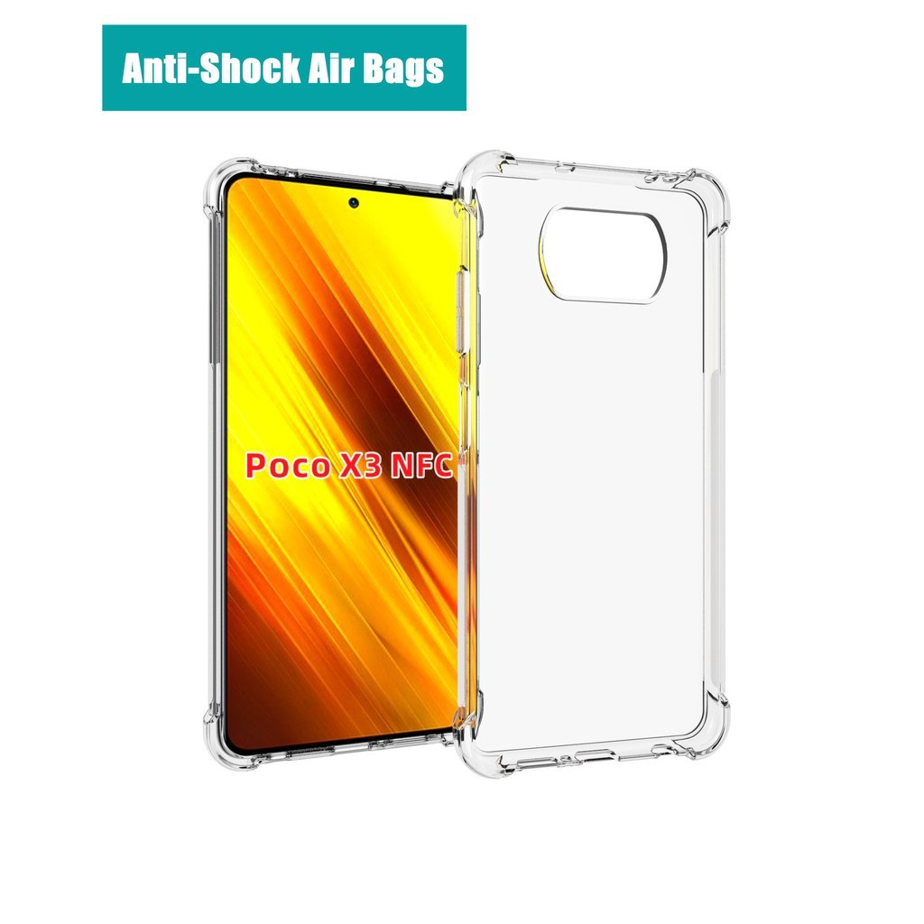 XiaoMi mi A2 / 6X A3 6 9 8Lite 9Lite Mix 2S A2 Lite Poco F1 M3 X3 Shockproof Silicone Phone Case TPU Back Cover Antidrop