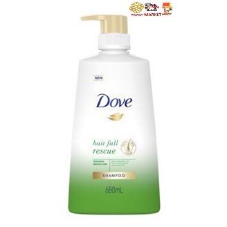 Dove Hair Shampoo 680ml (Hair Fall Rescue) (1)