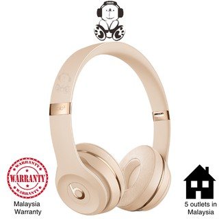 Beats Solo3 Wireless Stylish Designer Foldable Intelligent Wireless On Ear Headphones Black Jaben Shopee Malaysia