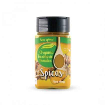 Love Earth Organic Tumeric Powder 60g 乐儿有机黄姜粉 60公克 (罐装)