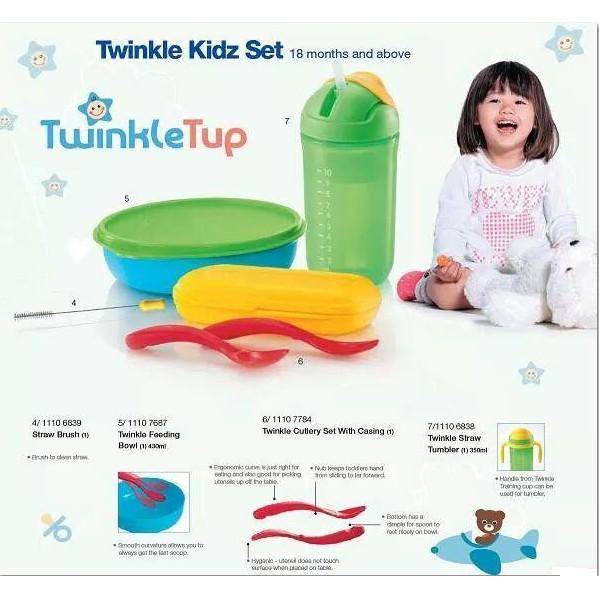 Tupperware Twinkle Tup Kids Set (Set of 4)