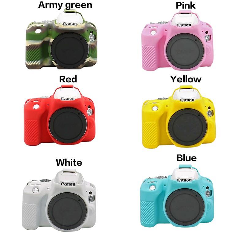 Soft Silicone Rubber Camera Protective Body Cover Case For Canon EOS 200D  200DII | Shopee Malaysia