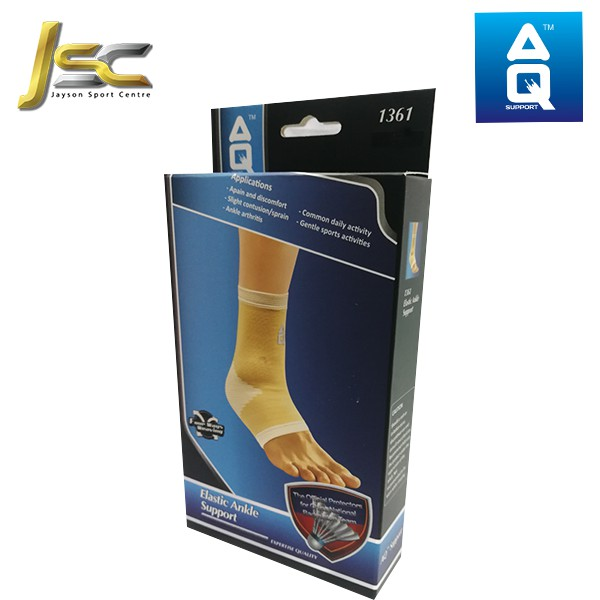 AQ Support Elastic Ankle Support - 1361