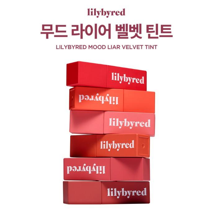 """lilybyred Mood Liar Velvet Tint 4.2g / """"New"""" """"9 types""""   Shopee ..."""