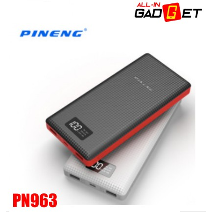 PINENG PN-963 | PN963 | PN 963 10000mAh Lithium Polymer Power Bank 100% Original