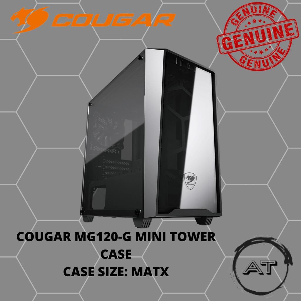 Cougar MG120-G M-ATX Mini-Tower Casing (1 x Non RGB Fan)