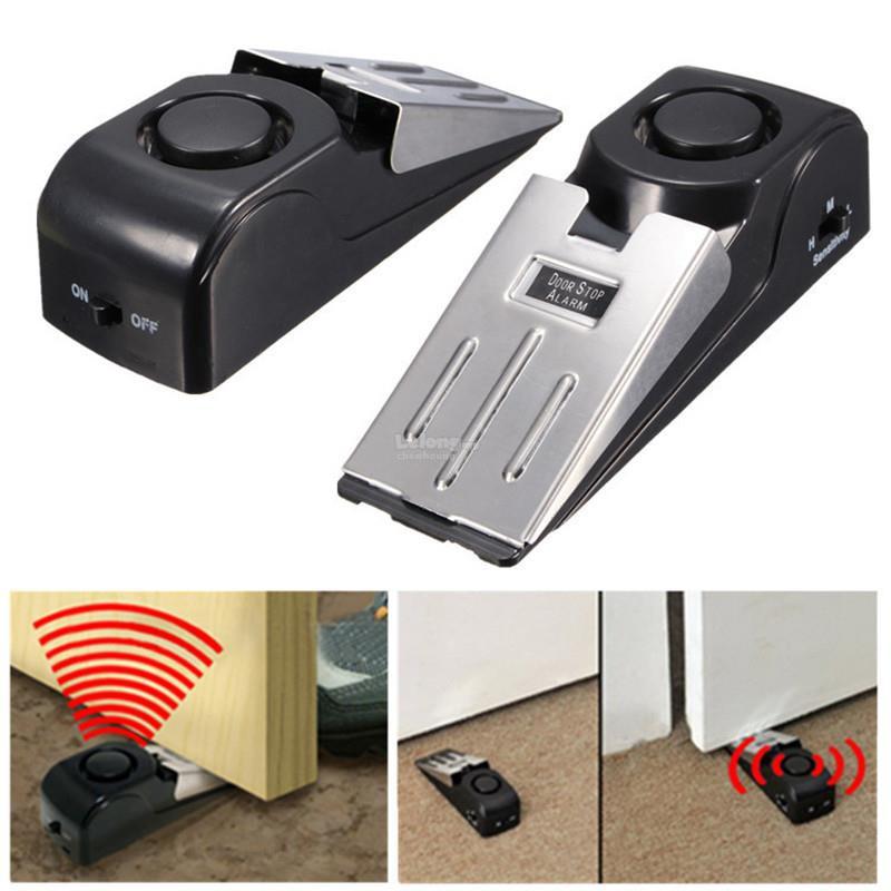 Loud Door Stop Alarm Anti-Theft Alert System Lindungi Rumah