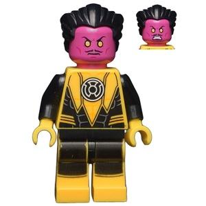 LEGO DC Super Heroes : Sinestro (Yellow Lantern) Minifigure