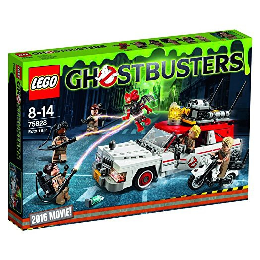 Original LEGO Ghostbusters 75828 - Ecto-1 & 2 New MISB