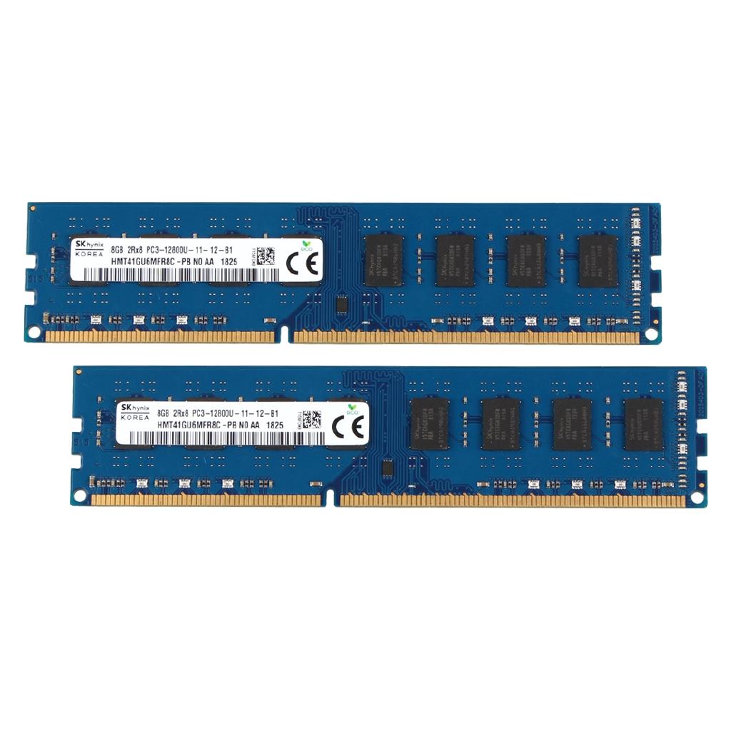 8GB Samsung Kits 2X 4GB PC3-12800 DDR3 1600Mhz DIMM 204Pin Memory RAM Desktop ##