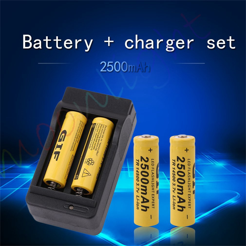 37v 18650 9800mah Capacity Li Ion Rechargeable Battery For 2400mah Liion Batteries W Protection Circuit Flashlight Torch Shopee Malaysia