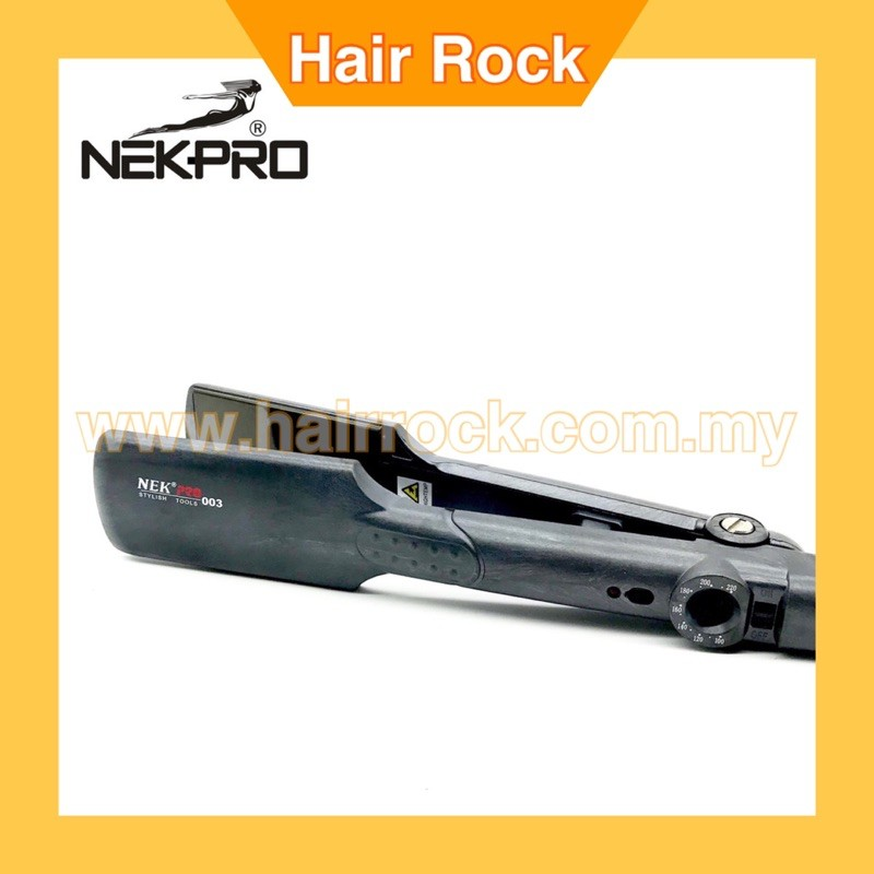 NEKPRO 003 Ceramic Straightener Professional Quality Salon Use