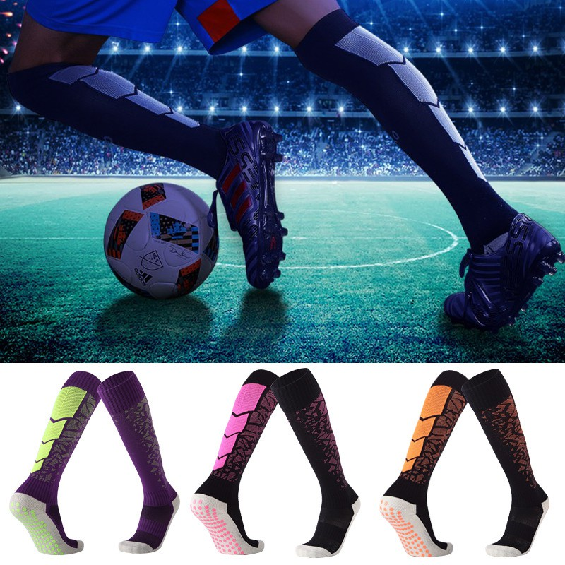6efd7cd6b Anti Slip Soccer Cotton Football Calcetines Soccer Jerseys Unisex Sock |  Shopee Malaysia