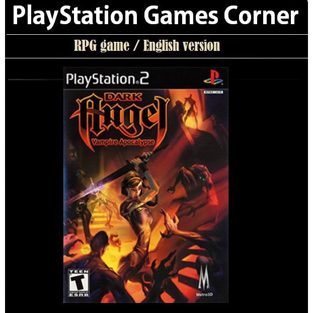 PS2 Game Dark Angel Vampire Apocalypse , ARPG Game, English version / PlayStation 2