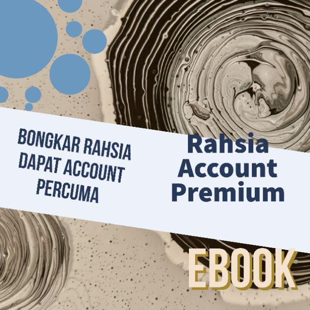 EBOOK RAHSIA ACCOUNT PREMIUM