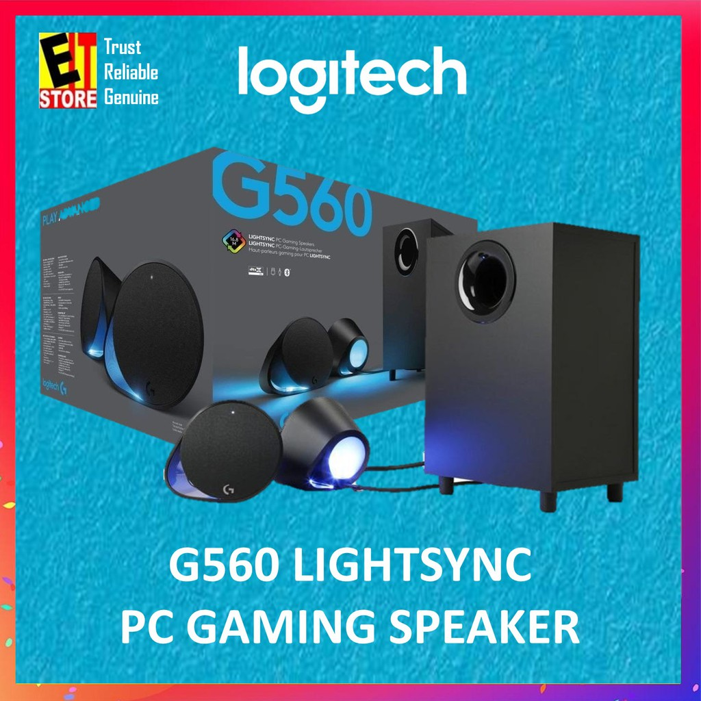 LOGITECH G560 LIGHTSYNC PC GAMING SPEAKER 980-001304