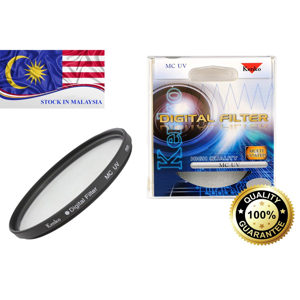 Genuine Kenko MC UV Multi Coated Lens Protector Filter 52mm 58mm 67mm (Ready Stock In Malaysia)