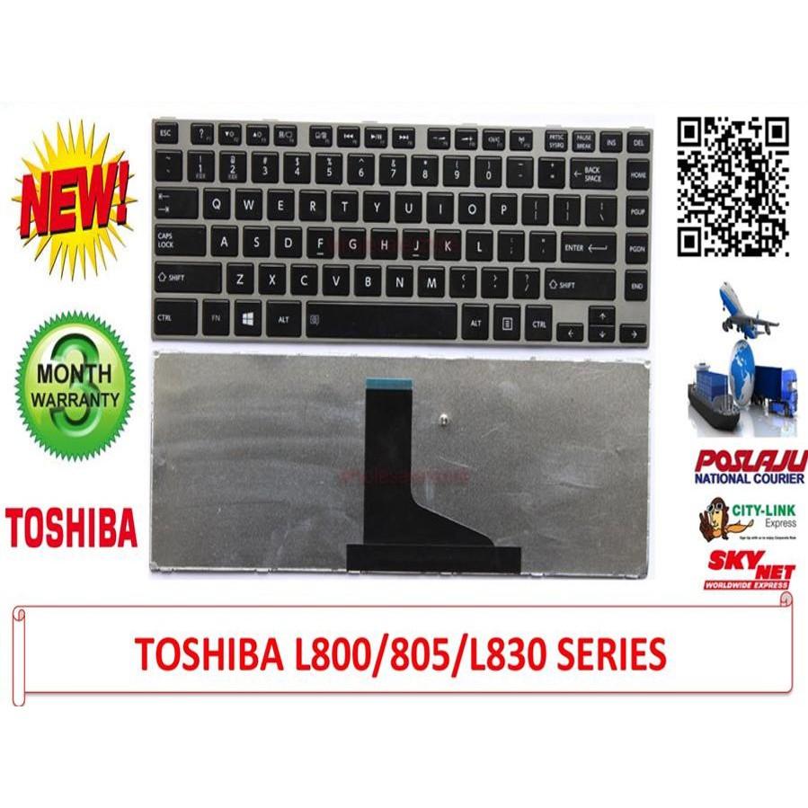 Keyboard Toshiba Satellite L800 L805 L830 L840 L845 C800 C800d M800 Laptop For U400 U500 U505 Series Portege M900 T130 T135 M8 Shopee Malaysia