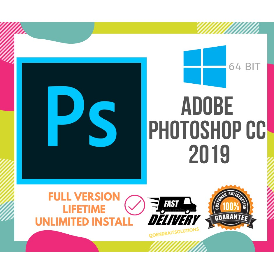 🔥HOT🔥 ADOBE PHOTOSHOP CC 2019