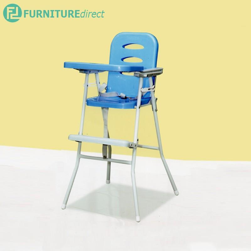 FOLDABLE BABY HIGH CHAIR / baby safety chair high dining / kerusi bayi / kerusi bayi ikea / feeding chair / foldable