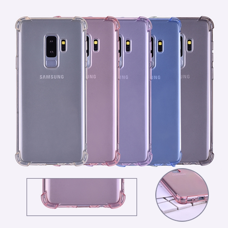 Cellphones & Telecommunications Phone Bags & Cases Generous Luxury Shockproof Soft Tpu Silicone Case For Samsung Galaxy S8 S9 Plus Note 9 J3 J5 J7 Pro 2017 A6 A8 J4 J6 Plus A7 2018 Cover