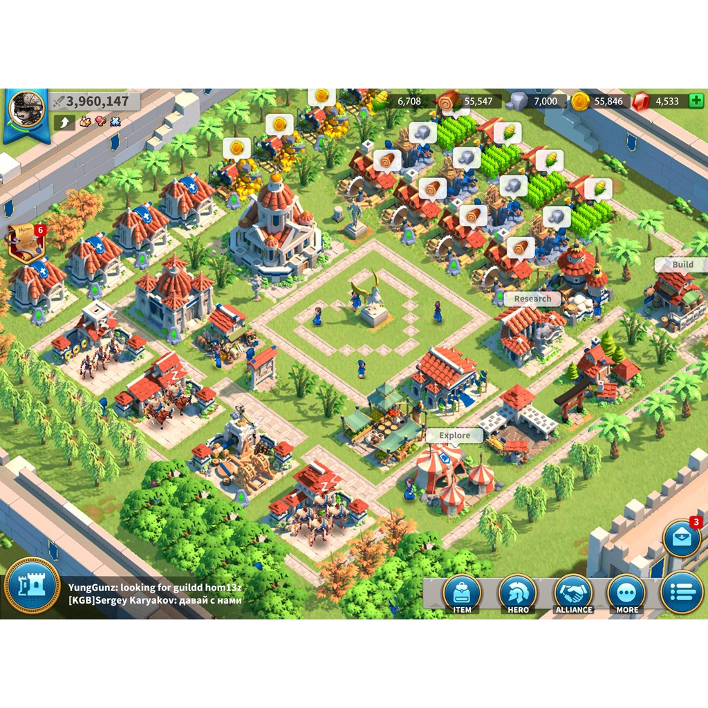 Rise Of Kingdoms Account For Sale Resources Selling Rok Shopee Malaysia