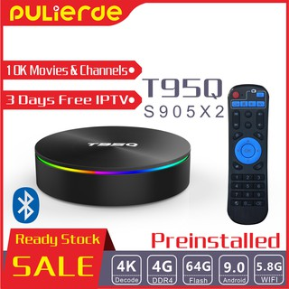 🔥PRE INSTALL🔥 unroot Q+ 4G+32G 6K Android 9 0 TV Box 10000