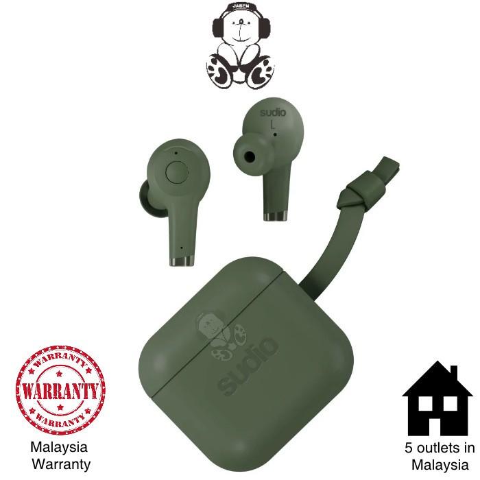 Sudio ETT Active Noise Cancelling IPX5 Waterproof ANC USB Type-C True Wireless TWS Earphones [Jaben]