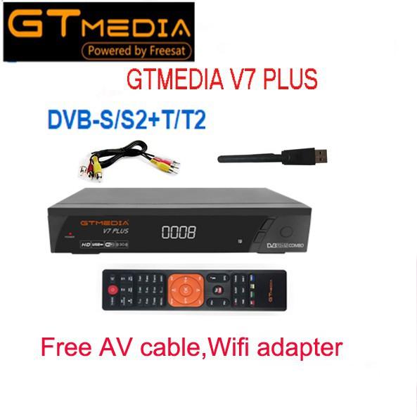 GTMedia Freesat V7 Plus Combo H265 DVB-T2 +wifi