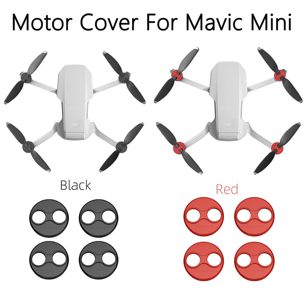 4pcs//lot RC Quadcopter Silicone Cap Motor Cover Parts for DJI MAVIC PRO