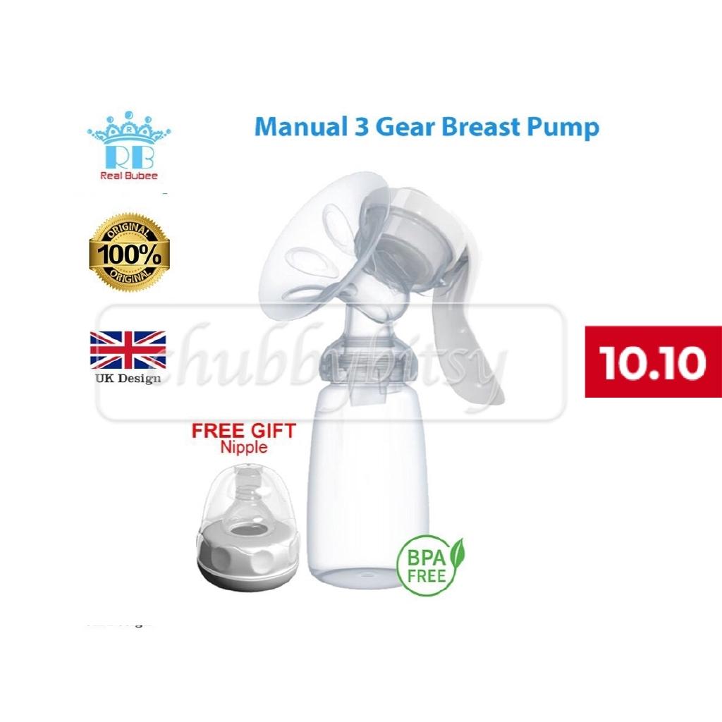 Frm Msia New Real Bubee Manual Breast Pump Bpa Free  Shopee Malaysia-7323