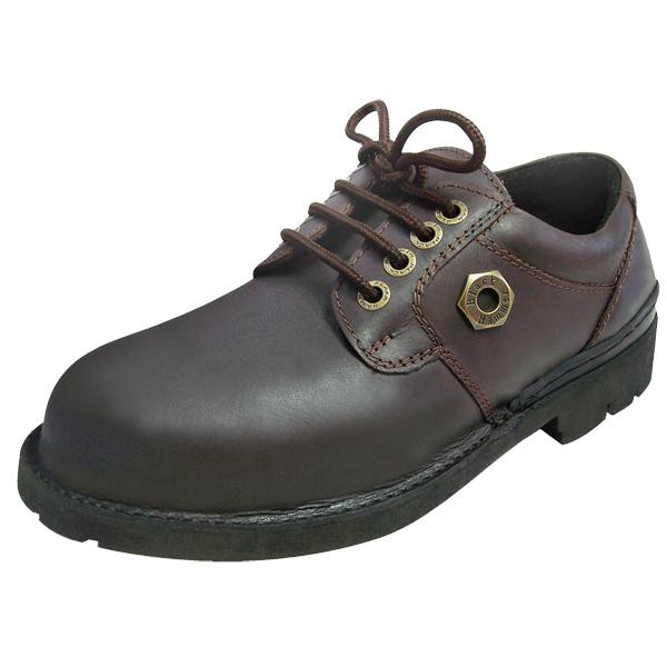*Promotion* Black Hammer BH4602 Genuine Leather Safety Shoes