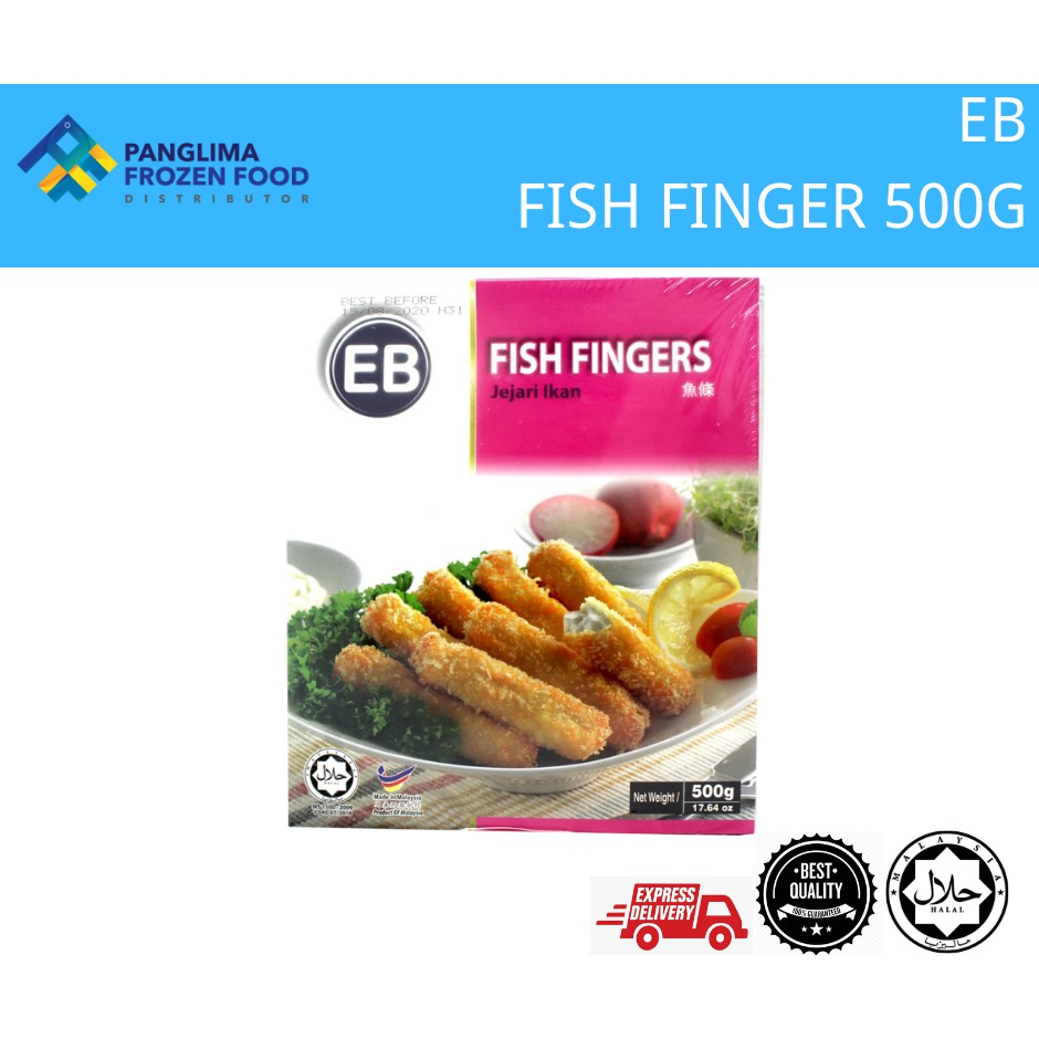[KLANG VALLEY ONLY] EB FISH FINGER 500G - JEJARI IKAN