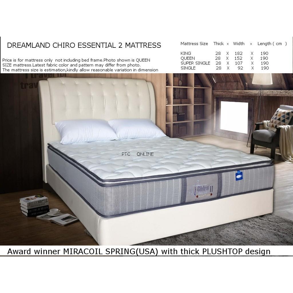 Dreamland Isabel Headboard Divan Single Size Bed Frame No Mattress