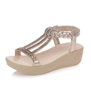 Head Fish Bohemian Shoes Wedge Malaysia Crystal SandalsShopee Imybf76gvY