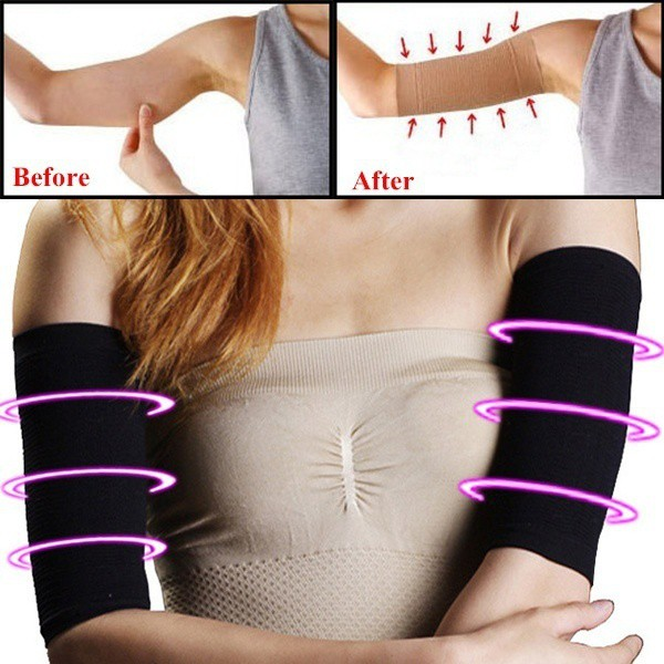 476ac507686 Arrival Arm Sleeve Base Shirt Amazing Arms Slimmer Tights Slimming Arms  Shaper