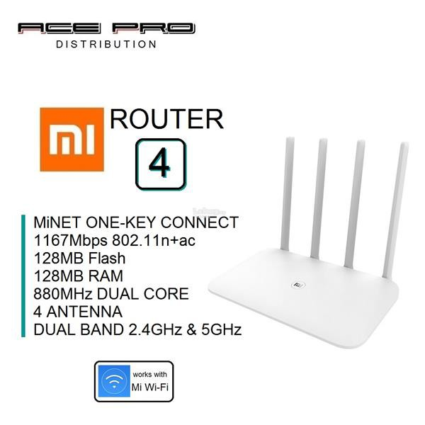 XIAOMI Mi Router 4 - 2 4GHz & 5GHz WiFi Wireless AP Repeater Router