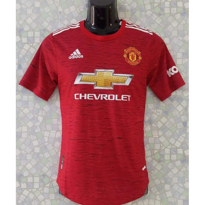 Jersi Manchester United Home Kit 2020 21 Player Issue Jersey Mu Shopee Malaysia