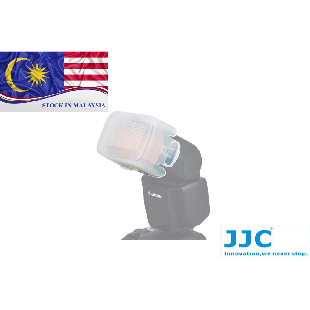 JJC FC-430EXII Flash Diffuser For Canon 430EX III-RT (Ready Stock In Malaysia)