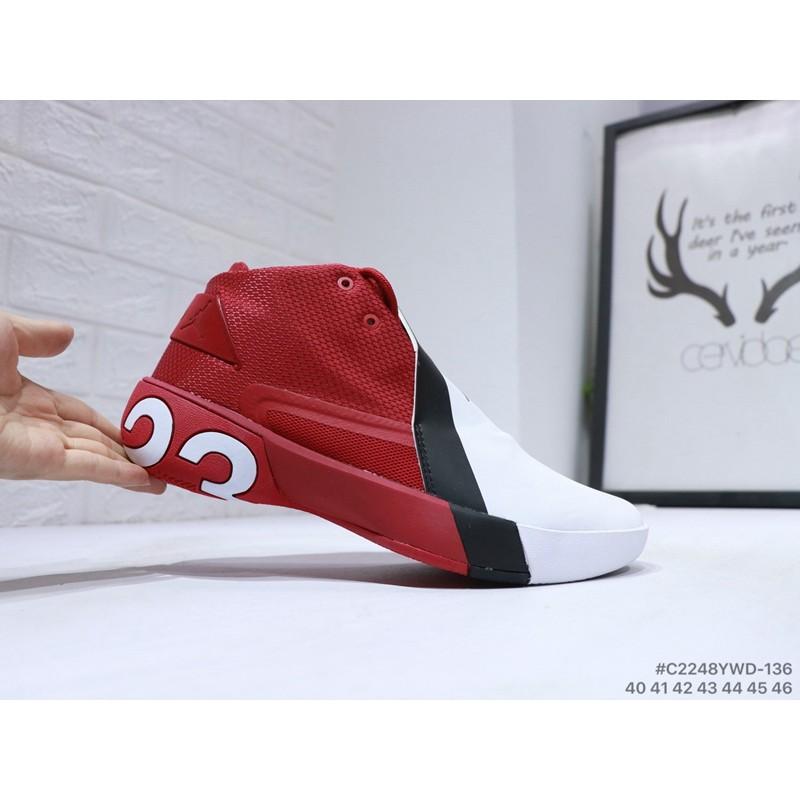 NIKE Air Jordan 23 Retro mid leather fashion basketball shoes. C2448YWD 7143143