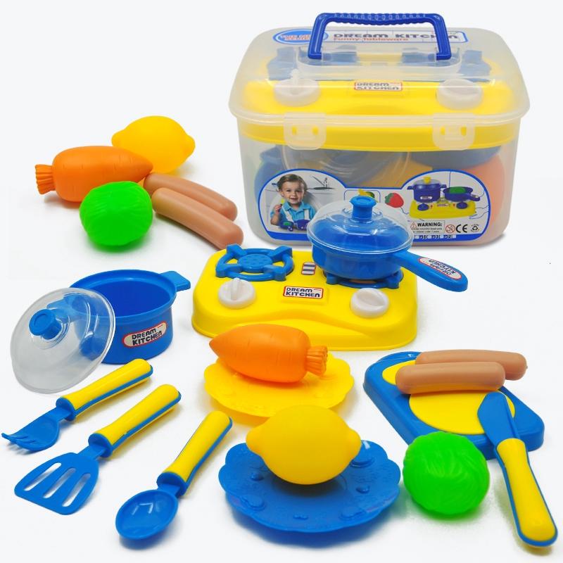Simulation Stove Kitchenware Kitchen Pretend Play Toys Kit