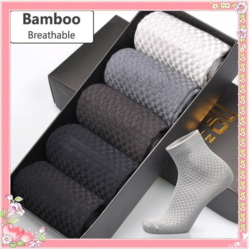 a3c75488525ba Men Bamboo Fibre Odorless Socks Casual Sport Business Fashion Breathable  Sock | Shopee Malaysia