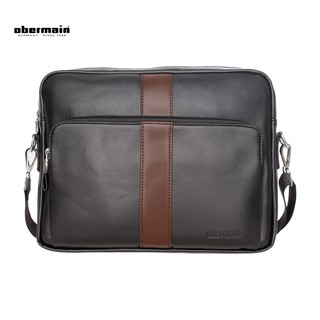 ... Obermain Men s Messenger Bag- Black. like  1 4cf3eac784