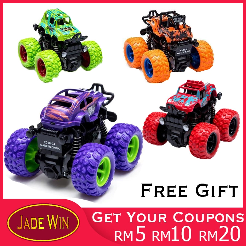 Toy Cars That You Can Drive >> Inertia Four Wheel Drive Children Boys Model Cars Anti Fall Toy Cars 2 3 4 5 Years Old Shock Absorbers