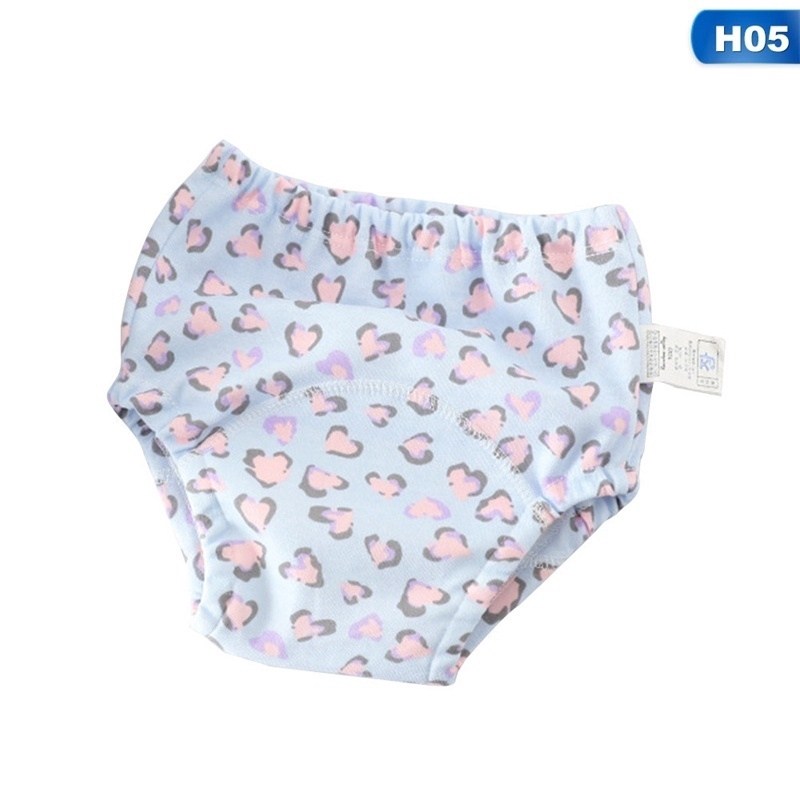 4 Pack Baby Boys//Grils Underwear Potty Training Pants 1-4 Years Flyish Training Pants for Babies