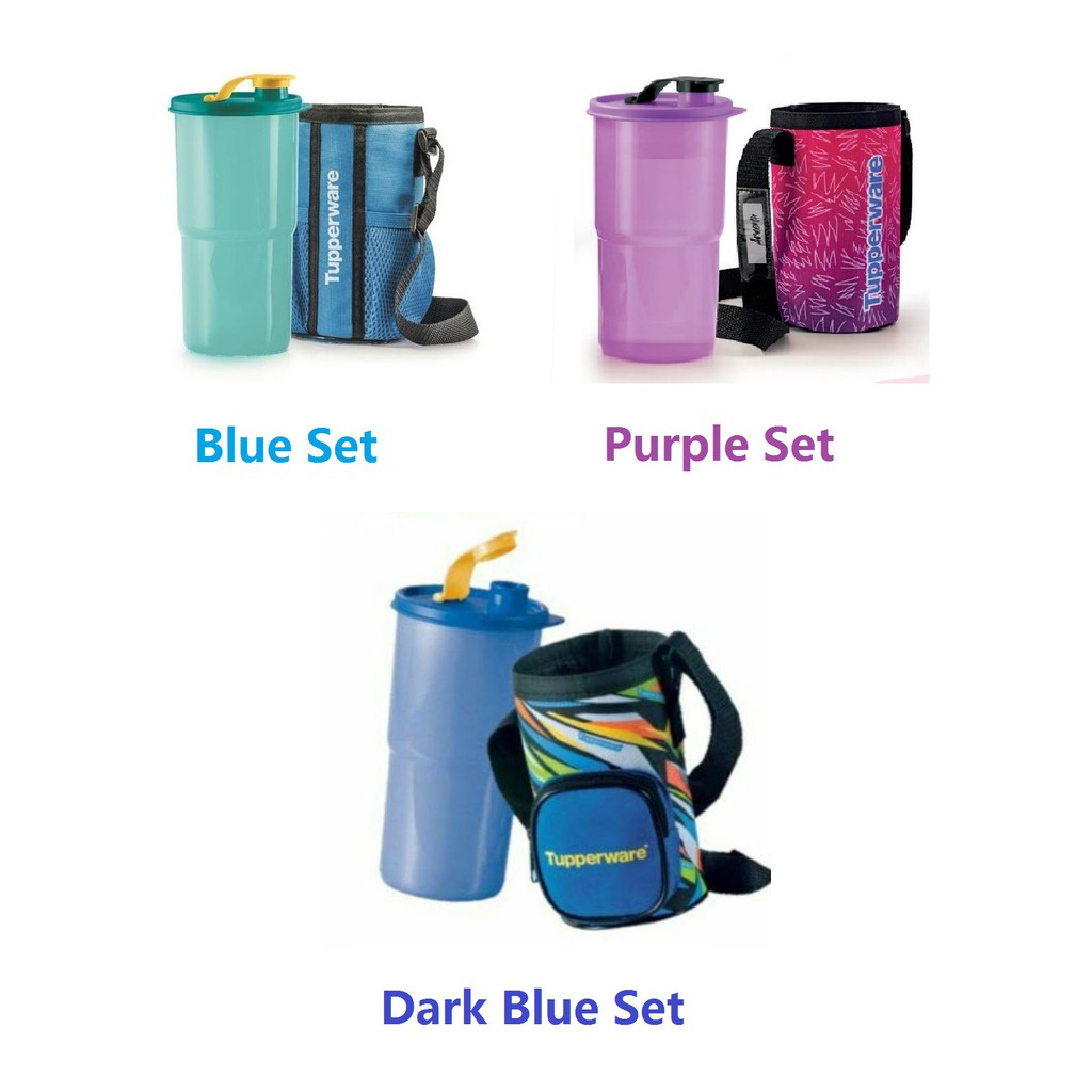 Tupperware Thirstquake Tumbler with Pouch (1) 900ml