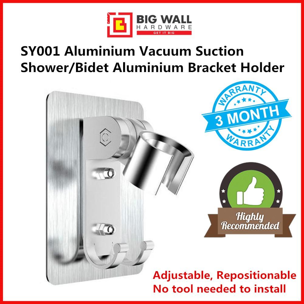 Vacuum Suction Shower SY002/Bidet ABS Bracket Holder Big Wall Hardware